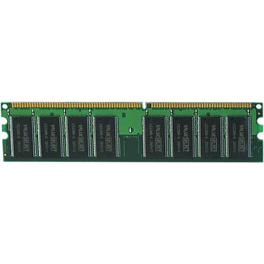 Corsair Value Select 1 Go (2x 512 Mo) DDR 400 MHz CL 2.5
