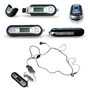 Lecteur MP3 256 Mo S320 Noir