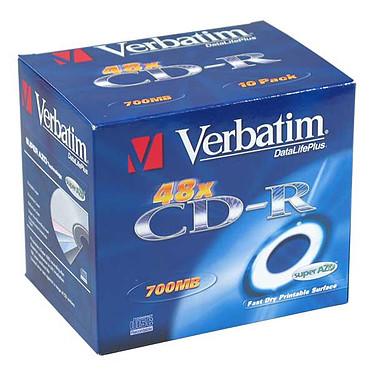 Verbatim CD-R 700 Mo 52x imprimable (boite de 10)
