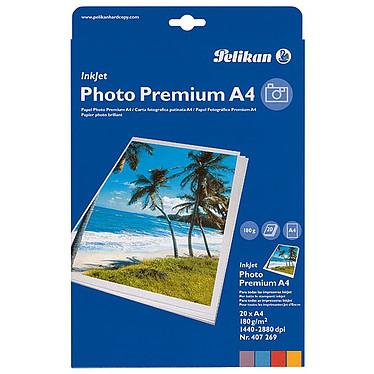 Pelikan Papier Photo A4 brillant 180 gr / 20 feuilles