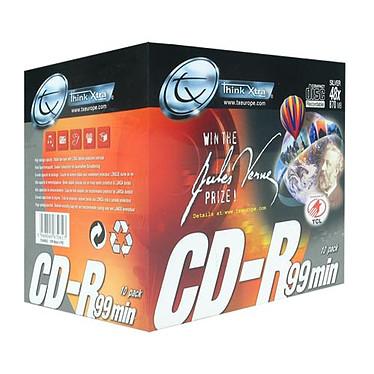 Tx CD-R 870 Mo Certifié 48x (pack de 10, boîtier simple)