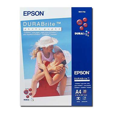 Epson Papier Photo DURABrite A4 20 feuilles