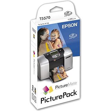 Epson PicturePack - Kit Papier 100 feuilles + Encre 6 couleurs (pour PictureMate)