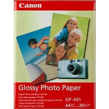 Canon GP-401 - Papier Photo Glacé, 190g/m² (A4 - 20 feuilles)