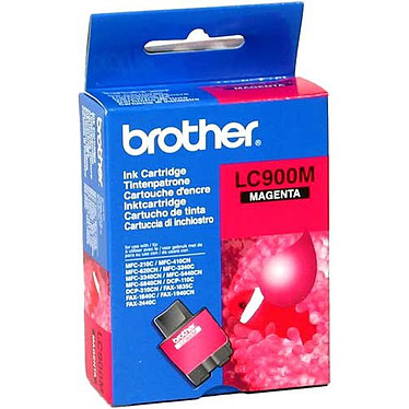 Brother LC900M Cartouche d'encre magenta (400 pages à 5%)