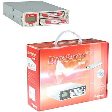 Enermax ES-252 - Boîtier RAID (2 emplacements pour disque dur 2 pouces 1/2) Interne IDE - Coloris Blanc