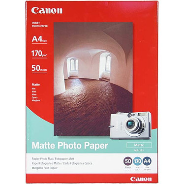 Canon MP-101 - Papier photo mat (A4 50 feuilles)