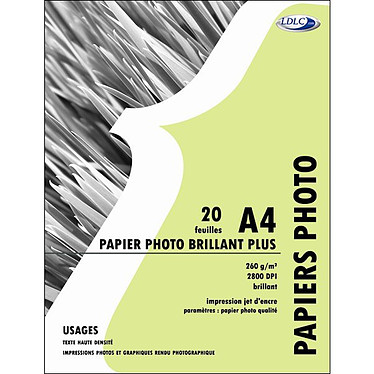LDLC Papier Photo Brillant Plus