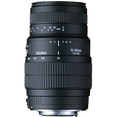 SIGMA 70-300mm F4-5,6 DG Macro monture Canon
