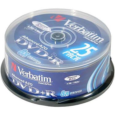Verbatim DVD+R 4.7 Go Certifié 8x (pack de 25)