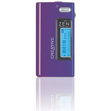 Creative Zen Nano Plus - 512 Mo - Violet (USB 2.0)