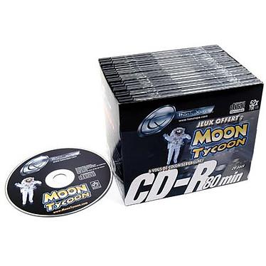 TX Pack 20 CD-R 80mn (+ Jeu Moon Tycoon)