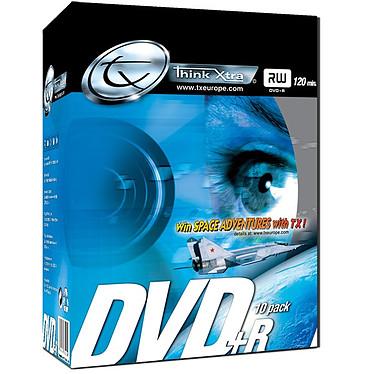 Tx DVD+R 4.7 Go Certifié 8x (pack de 10, boîtier DVD slim)