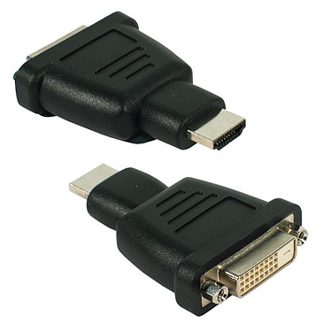 Adaptateur DVI-D Femelle / HDMI mâle