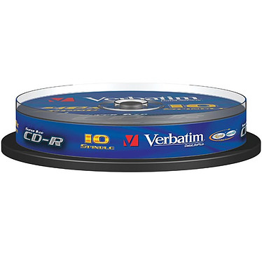 Verbatim CD-R 700 Mo Certifié 52x (pack de 10, spindle)
