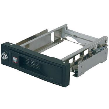 """ICY BOX IB-168SK-B ICY BOX IB-168SK-B - Rack amovible sans tiroir pour disque dur 3""""1/2 Serial ATA (noir)"""