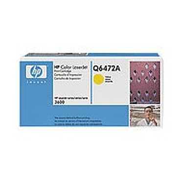HP Q6472A HP Q6472A - Toner HP ColorSphere - Jaune (4 000 pages à 5%)