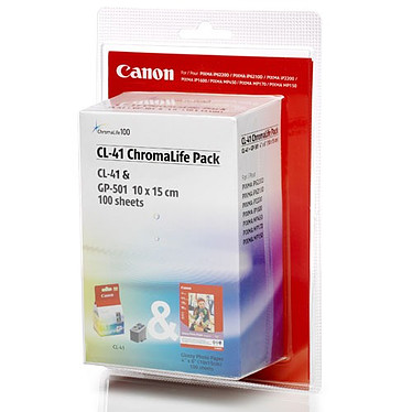 Canon Value Pack CL-41+GP-501