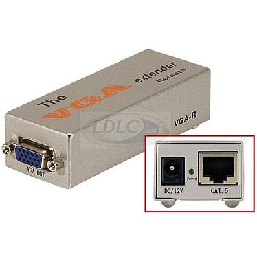 Récepteur VGA sur câble Ethernet (1 port)