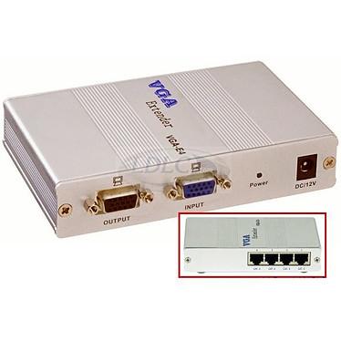 Emetteur VGA sur câble Ethernet (4 ports)