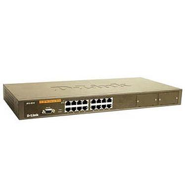 D-link DES-3018 D-link DES-3018 - Switch administrable 16 ports 10/100Mbps Ethernet  de niveau 2