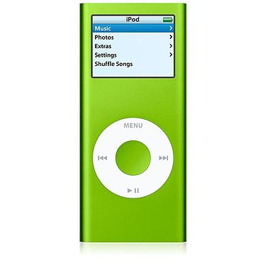 Apple iPod nano 4 Go vert