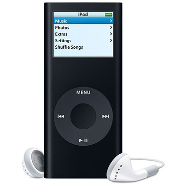 Apple iPod nano 8 Go noir