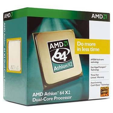 AMD Athlon 64 X2 Dual-Core 3600+ AM2 (version boîte)