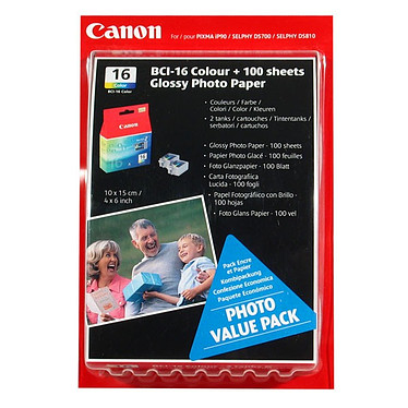 Canon BCI-16C Pack