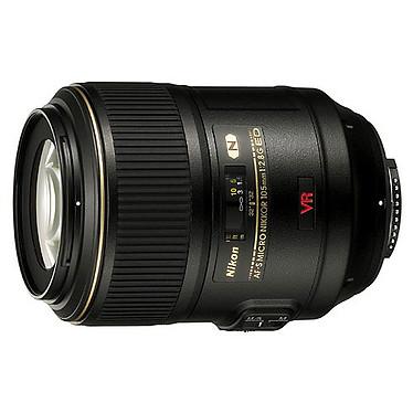 Nikon AF-S VR 105 mm f/2.8G IF-ED MC Nikon AF-S VR 105 mm f/2.8G IF-ED MC - Téléobjectif court Micro stabilisé