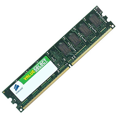 Corsair Value Select 2 Go DDR2 667 MHz