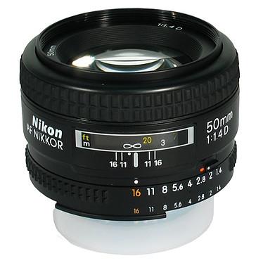 Nikon AF 50mm f/1.4 D Objectif standard plein format ultra-lumineux
