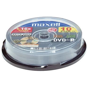 Maxell DVD-R 4.7 Go Certifié 16x (pack de 10, spindle)