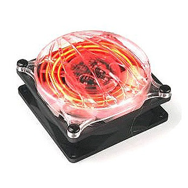 Thermaltake A2452 Thermaltake Cyclo 80 mm - Ventilateur 80 mm avec LED rouge