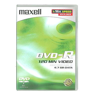 Maxell DVD-R 4,7 Go (pack de 5, boîtier DVD)