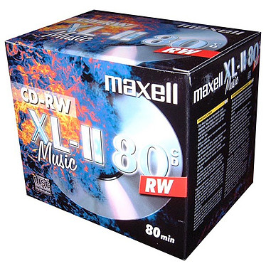 Maxell CD-RW 80 XL II Music