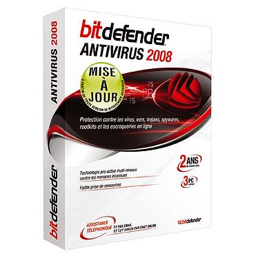 BitDefender Antivirus 2008 - Mise à jour - Licence 2 ans 3 postes (français, WINDOWS)