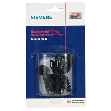 Siemens PTT-KEY Siemens PTT-KEY - Kit mains libres pour téléphones mobiles (séries 25/28/35)