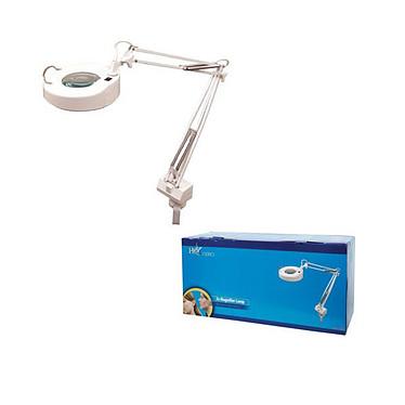 Lámpara de conexión con lupa de precisión