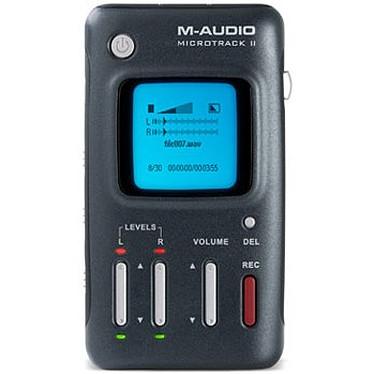 M-Audio MicroTrack II M-Audio MicroTrack II - Enregistreur numérique mobile 2 pistes