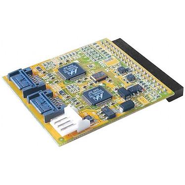 Adaptateur 2 ports SATA sur port IDE de carte mère