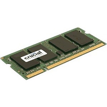 Crucial SO-DIMM 1 Go DDR2 800 MHz CL6
