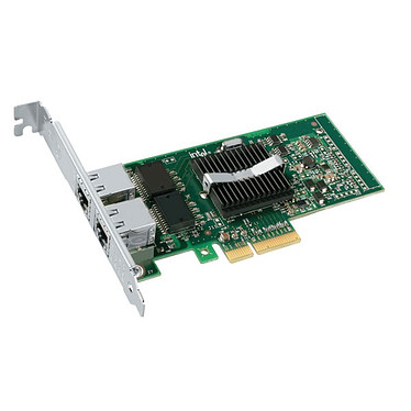 Intel PRO/1000 PT Dual Port Server Intel PRO/1000 PT Dual Port Server - Carte PCI 2 ports ethernet Gigabit