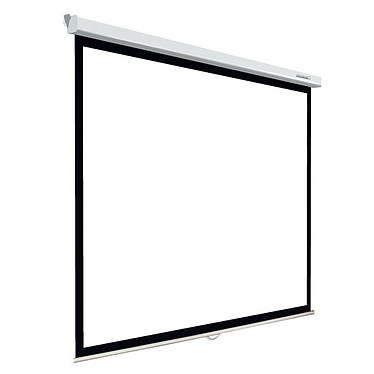 Lumene Plazza 2 170V Ecran manuel - Format 4:3 - 171 x 128 cm