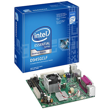 Intel D945GCLF Intel D945GCLF avec processeur Atom 230 (Intel 945GC Express) - Mini ITX