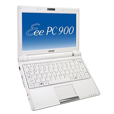 """ASUS Eee PC 900 Blanc ASUS Eee PC 900 Blanc - Intel Celeron M 1 Go 16 Go 8.9"""" TFT Wi-Fi G Webcam Linux"""