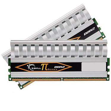 G.Skill PI Series 4 Go (kit 2x 2 Go) DDR2-SDRAM PC2-8500 - F2-8500CL5D-4GBPI G.Skill PI Series 4 Go (kit 2x 2 Go) DDR2-SDRAM PC2-8500 - F2-8500CL5D-4GBPI (garantie 10 ans par G.Skill)