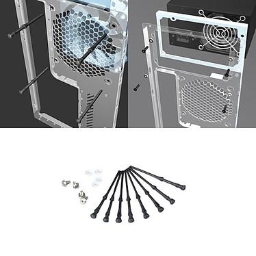 Akasa AK-MX002 Kit de visserie anti-bruit caoutchouc (pour alimentation et ventilateur de boîtier)