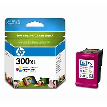 HP 300 XL - CC644EE Cartouche d'encre couleur