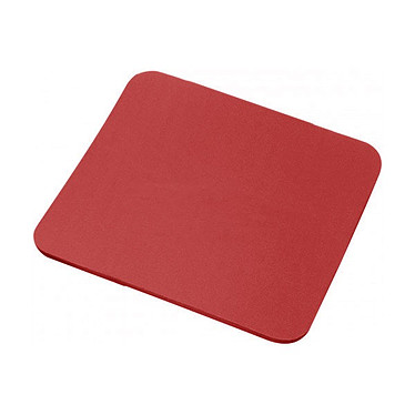 Tapis de souris simple (coloris rouge)